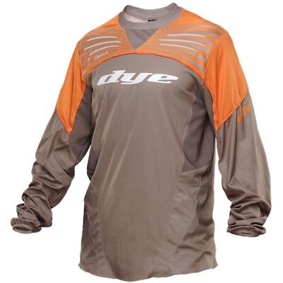 Dye Ultralite Paintball Jersey 2014 - Dust/Orange