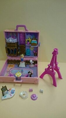 Polly Pocket in Paris. Case with accessories and Polly.1996.