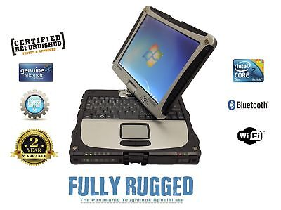 Fully Loaded  Panasonic Toughbook Cf 19 Windows  Diagnostics Essential 4 Gb Ram