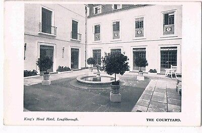 Leicestershire - Ppc - The Courtyard, Kings Head Hotel, Loughborough, 1937
