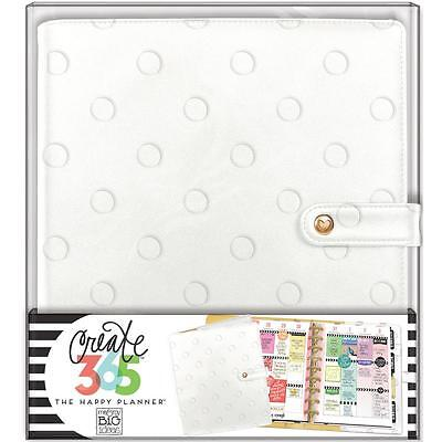 Me & My Big Ideas Create 365 CLASSIC Happy Planner Deluxe Cover Snow Dots CODC08