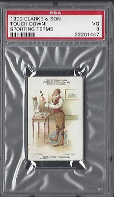 1900 Clarke & Son - Touch Down - Sporting Terms - Psa 3
