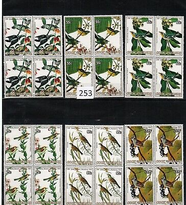 Wu 4X Cook Islands - Mnh - Birds - Nature