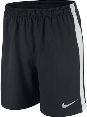 Nike Squad Strike Longer Woven Junior Football Shorts - Black
