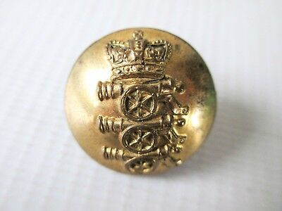VICTORIAN BRITISH ARMY BUTTON - ROYAL REGIMENT OF ARTILLERY other ranks