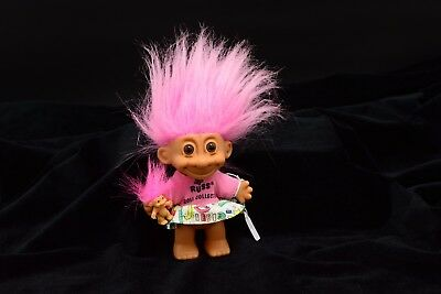 "Russ Vintage 5"" Troll Doll with Baby Troll Doll (EC3)"