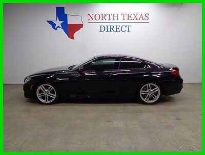 2015 BMW 6-Series 640i M Sport GPS Navi Camera Leather Heat Cool Sea 2015 640i M Sport GPS Navi Camera Leather Heat Cool Sea Used Turbo 3L I6 24V