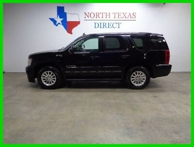 2008 Chevrolet Tahoe GPS Navigation Leather Heated Seats Back Up Camera 2008 GPS Navigation Leather Heated Seats Back Up Camera Used 6L V8 16V Automatic