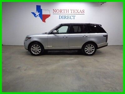 2015 Land Rover Range Rover HSE SC Supercharged GPS Navi Sunroof Heat Cool Sea 2015 HSE SC Supercharged GPS Navi Sunroof Heat Cool Sea Used 3L V6 24V Automatic