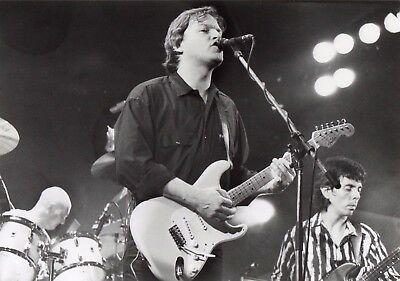 Pink Floyds David Gilmour Photo 1984 Unique Image 12 Inch Hand Printed Exclusive