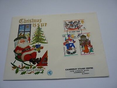 Christmas 1968 Wessex FDC