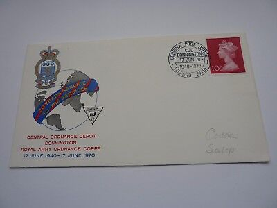 Royal Army Ordnance Corps 1970 FDC