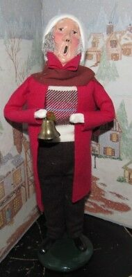 Byers Choice Caroler Man with Bell 1991  #100/100  *