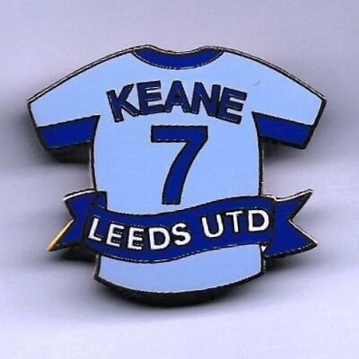 Leeds United Fc Badge - Robbie Keane No.7