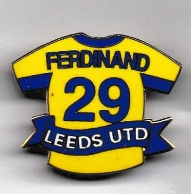 Leeds United Fc Badge - Rio Ferdinand No.29