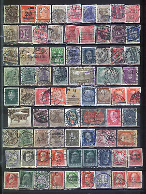 Germany Reich old perfin selection *b171020