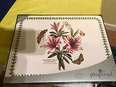 Pimpernel Botanic Garden Placemats Set of 6, BRAND NEW IN BOX