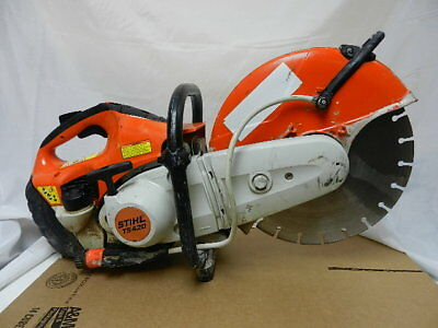 "STIHL TS420  14"" CONCRETE CUT-OFF SAW With Water Hook Up *No Reserve*"