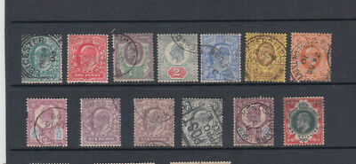 A very nice old GB Edward VII group of issues to One Shilling