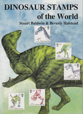 DINOSAUR Stamps of the World Paperback128 pages S. Baldwin & B. Halstead