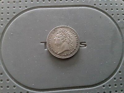 George 1111 Silver Threepence 1824