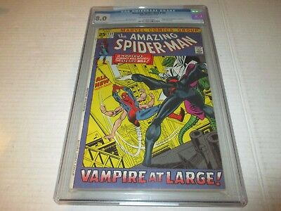 Amazing Spider-Man #102 Origin 2nd App Moribus CGC Grade 8.0