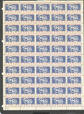 CANADA , 1959 , St LAWRENCE OPENING , FULL SHEET UNMOUNTED MINT , MNH ,