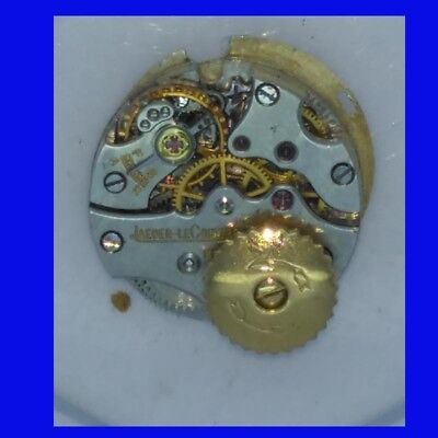 Jaeger Lecoultre Wrist Watch Movement with Backwind ca. 1960