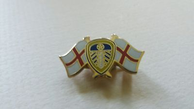 England & Leeds United - METAL Badge