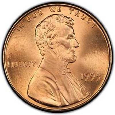 Bu Roll Of 1995-P  Cents