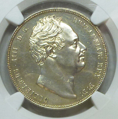 Great Britain Proof Half Crown 1834 PR 62 NGC