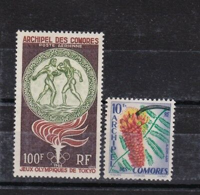 Comoro Is - 1959,64 SG20,46 MH stamps