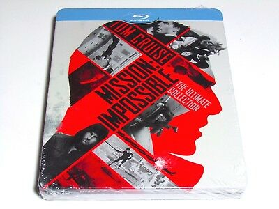 Mission Impossible The Ultimate Collection Blu-Ray Steelbook Boxset Import New