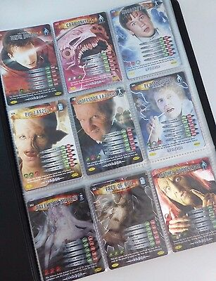 Dr Doctor Who Battles In Time - Invader Trading Card Set COMPLETE FULL SET