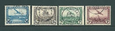 BELGIUM - 1930 Used AIR stamps