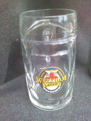 Wrexham Lager Brewery 1Pt Beer Glass