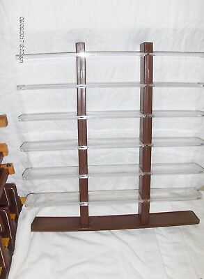 7 Plastic Display Shelf Unit For Diecast Cars or AnyThing Else - No Box (L143
