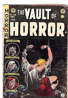 The Vault Of Horror   # 39     1954    Original Ec Horror