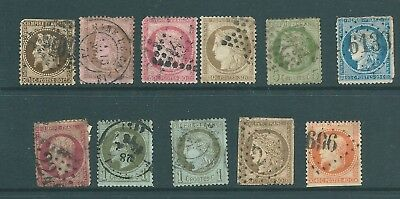 FRANCE - 19th Century stamps - Empire and Republic