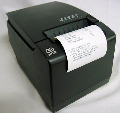 NCR 7198-2002-9001 Thermal POS Receipt Printer Serial USB Auto Cutter