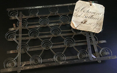 1878 Patent Model - Bed-Bottom - Folding Compressing Mattress Springs