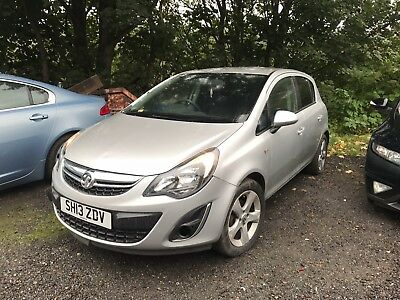 2013 Vauxhall Corsa 1.2 Sxi 5Dr [Ac] Spares Or Repair Light Damaged Not Recorded