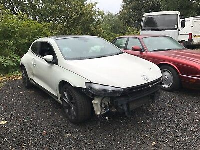 2011 Volkswagen Scirocco 2.0 Tsi 210 Gt Dsg Non Runner Spares Or Repair Damaged
