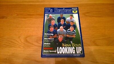 2004-05 Oxford United v Chelsea - Friendly - Sell Out