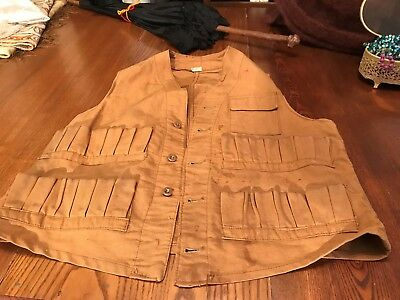 Vintage Hunting Vest/Small Size