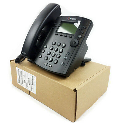 Polycom VVX 301 IP Phone (2200-48300-025) PoE -New Bulk