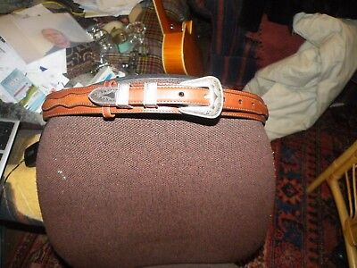 Nocona Belt Company USA Womans western riding belt .for waist 30 to 34