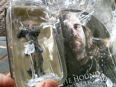 Game of Thrones Official Collector's Models Issue 3-Sandor Clegane(The Hound)