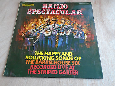 The Barrelhouse Six: Banjo Spectacular LP (Stereo Gold Award) 1971