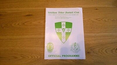 1990-91 Waltham Abbey v Crystal Palace - opening of Floodlights